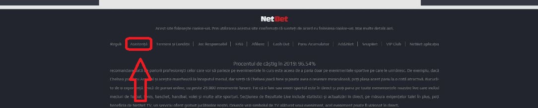 Contact NetBet
